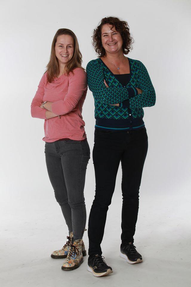 Ingeborg Gerritsen en Ina Molenaar